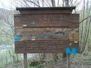Zona di pesca no kill Ponte della Fola