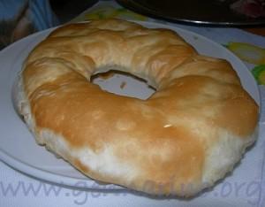 Gnocco fritto a forma rotonda