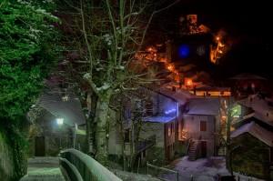 Montecreto by night, foto di Alessandro Cappellini