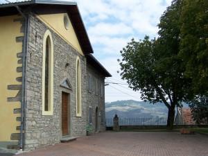 Casine Chiesa vecchia e canonica - foto Alessandro Zagaglia