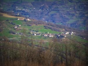Territorio di Casine visto dalle Lame di Vesale - foto Alessandro Zagaglia
