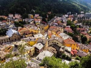 Sestola dall'alto, foto di Ruggero Baldaccini
