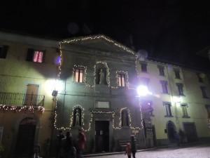 Chiesa dell'Immacolata Concezione nel periodo natalizio