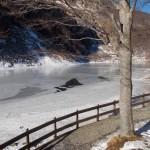Lago Santo in inverno
