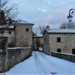 Groppo sotto la neve. Foto Cecilia Bignardi