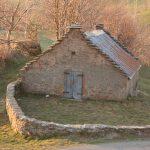 La teggia della Spianata, com'era prima del restauro. Foto di Valentina Bernardi