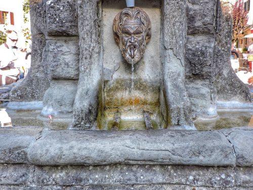 Fanano: la Fontana di Piazza Corsini