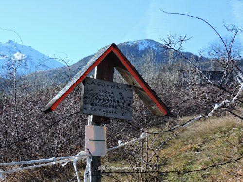 Trekking nella valle di Canevare