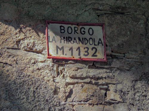 Le borgate abbandonate: La Mirandola